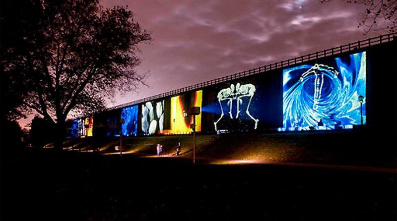 Referenzen - Lichtsicht Projection Biennale
