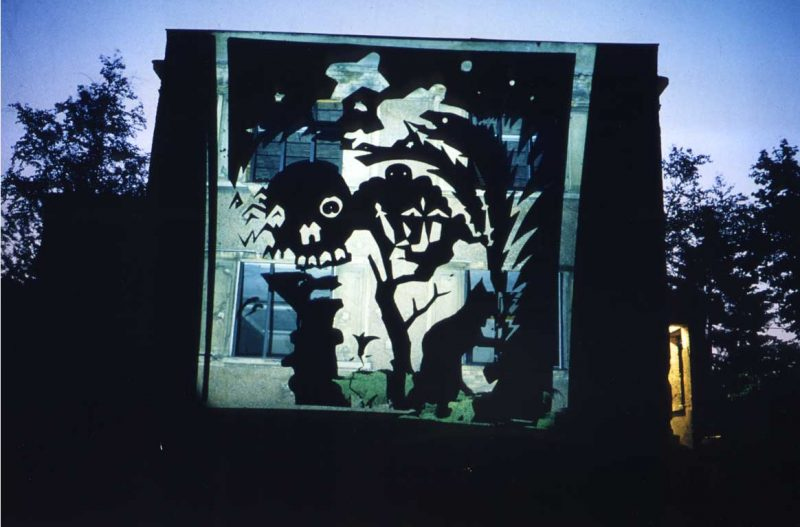 Referenzen - Vexierbild Ruine der Küenste Berlin 1993